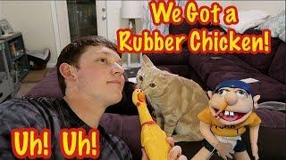 Video Jeffy and Lance Got a Rubber Chicken! MP3, 3GP, MP4, WEBM, AVI, FLV Maret 2018