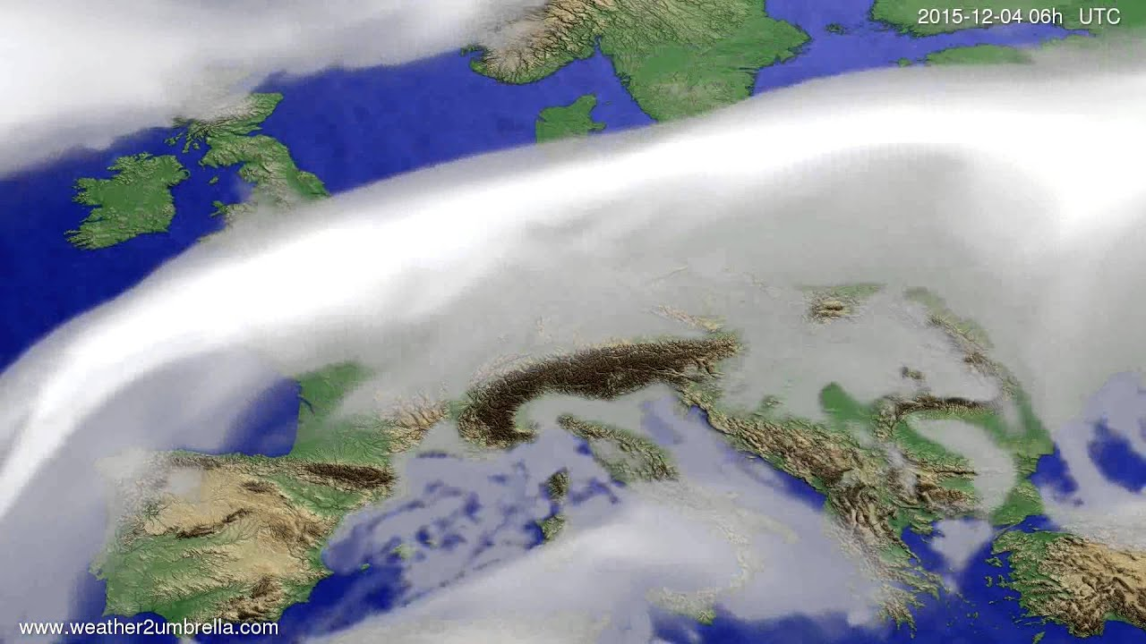 Cloud forecast Europe 2015-12-01