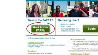 2018-2019 7 Easy Steps to the FAFSA - Start Here