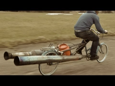 bicycle - An old womans bike built for shopping turned into a bomb inspired safety hazzard. This is the final part in my series on the wonderfull pulse jet and what an...