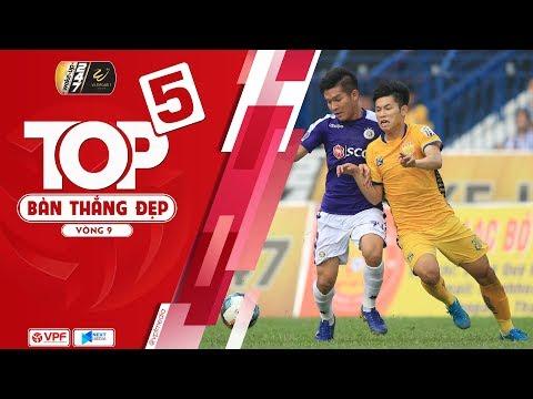 Top 5 bàn thắng đẹp vòng 9 - Wakeup247 VLeague1 2019: Lần đầu cho Trọng Hùng | VPF Media - Thời lượng: 4 phút và 36 giây.
