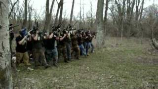 Playing Paintball Like This Would Be So Much Fun!