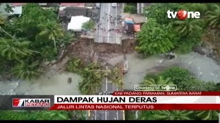 Download Video Dampak Hujan Deras, Air Terjun Lembah Anai Meluap Hingga Jalan Raya MP3 3GP MP4