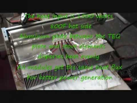 Thermoelectric Generator Woodstove TEG - Home-Thermoelectric-generator Teg Modules