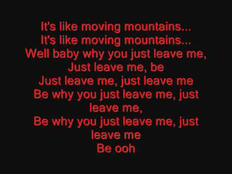 Usher   Moving Mountains With Lyrics   YouTube