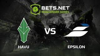 Epsilon vs HAVU, Bets.net Challanger Series