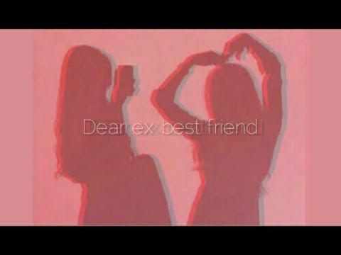 Dear ex best friend - Original song by Tate Mcrae (lyrics)