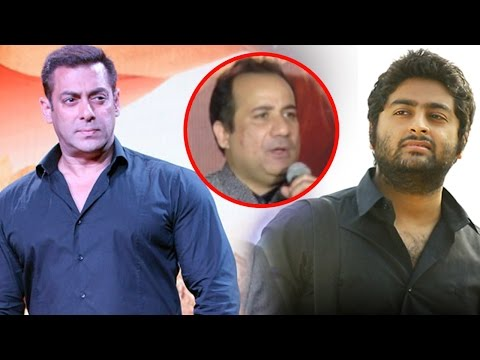 Rahat Fateh Ali Khan's REACTION Over Arijit Sing