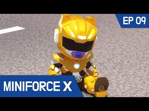 [MiniforceX] Episode 09 - The Witch's Curse