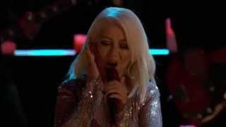 Christina Aguilera (Coaches Perfomance) - The Thrill Is Gone