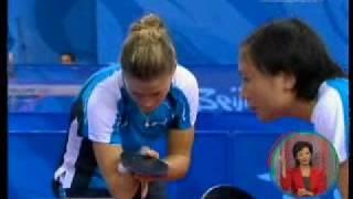 Natalia Partyka и настольный теннис