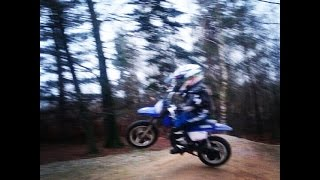 4. Yamaha pw50 4 years old jumps