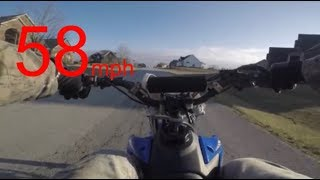 10. TTR125LE top speed test