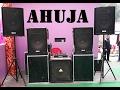 dj sound system Ahuja speakers.