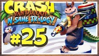"""Let's Play Crash Bandicoot N. Sane Trilogy - Part 25 - Dingodile heizt ein! [HD • 60fps • Blind • Deutsch]★ LETSPLAYmarkus abonnieren! ► http://goo.gl/ck1zgM★ Crash Bandicoot N. Sane Trilogy Playlist ► https://goo.gl/n15WrL★ Alle Let's Plays Übersicht ► http://goo.gl/irwbPr★ Offizielle Facebook-Page ► http://goo.gl/G7i8ve★ Offizielle Twitter-Page ► http://goo.gl/99sL40········································································➜ EURE UNTERSTÜTZUNG IST GEFRAGT!Mit nur einem Klick kannst du viel helfen! Like dieses Video mit einem """"Daumen Hoch"""" um das Spiel, das Let's Play und meinen Kanal zu unterstützen! Wenn du immer über neue Videos meines Kanals informiert werden möchtest, kannst du meinen Kanal Abonnieren - Das ist natürlich kostenlos und dient dazu, dass du kein Video mehr verpasst! Hier klicken » http://goo.gl/ck1zgM···················································································➜ INFORMATIONEN ÜBER DIESES VIDEO:Gezeigte Level / Stages in diesem Part:• Tomb Time• Midnight Run• Dingodile• Dino Might!········································································➜ INFORMATIONEN ÜBER """"CRASH BANDICOOT N. SANE TRILOGY"""":Als Sony Mitte der 90er Jahre mit der ersten PlayStation in das Konsolengeschäft einstieg, schien der Technikriese einiges richtig zu machen. Doch es fehlte zunächst ein Maskottchen, eine Art Galleonsfigur, wie Nintendos Super Mario oder Segas Sonic the Hedgehog. Am ehesten dürfte """"Crash Bandicoot"""" für Sony diese Rolle übernommen haben: Entwickelt von Naughty Dog und gepublished von Sony selbst, erschien der Beuteldachs 1996 auf der Sony PlayStation und konnte mit tollen 3D-Stages und frischem Gamplay überzeugen. Es folgten Fortsetzungen auf besagter PS1 sowie nachfolgenden Systemen, wo sich Crash Bandicoot jedoch nicht mehr für das """"Fremdgehen"""" auf Konkurrenzkonsolen zu schade war. Mit den Jahren schwand seine Präsenz auf dem Videospielmarkt und das letzte Crash-Game erschien im Jahre 2010, ehe eine andauernde"""
