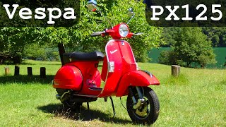 7. PIAGGIO New Vespa PX125 Overview Features Test Drive | Year 2016