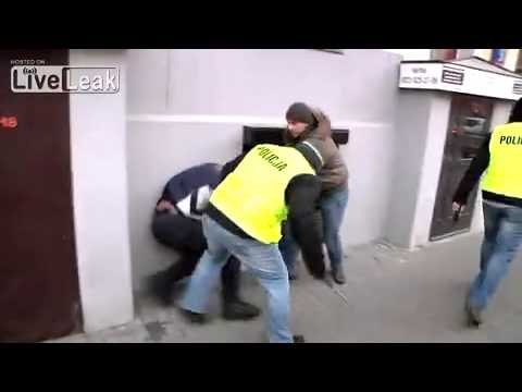 Polish Undercover Police Brutality