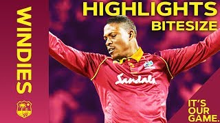 Windies vs England 2nd ODI 2019 | Bitesize Highlights