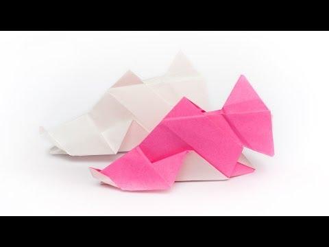 รูปปลา - วิธีพับกระดาษเป็นรูปปลาแซลม่อน (Origami salmon) Mookeep origami & papercraft blog http://www.mookeep.com.