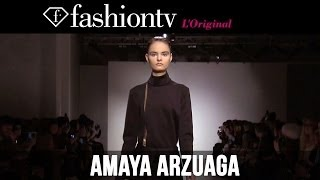 Amaya Arzuaga Fall/Winter 2014-15 | Paris Fashion Week PFW | FashionTV