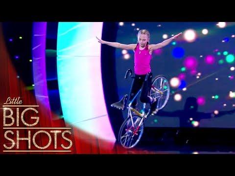 German Artistic Cyclist Ceyda @Best Little Big Shots