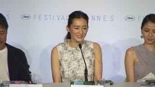 『海街diary』カンヌ国際映画祭記者会見(その1)