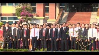 TP Uông Bí: Nghiêm túc thực hiện nghi thức chào cờ đầu tuần