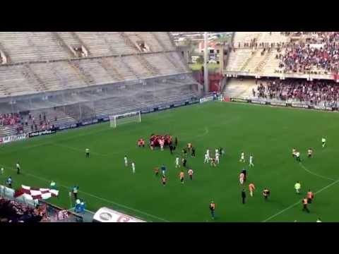 salernitana in serie b - lo stadio arechi in festa al triplice fischio