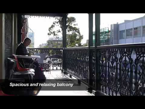 Video van Adelaide's Shakespeare International Backpackers