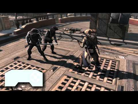 Assassin's Creed 3 Video Tutorial Teaches Combat Moves