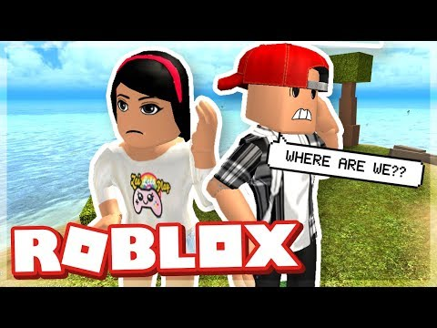 STRANDED ON A DESERTED ISLAND WITH MY GIRLFRIEND! - ROBLOX