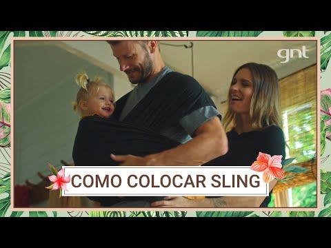Fernanda Lima e Rodrigo Hilbert ensinam COMO USAR o SLING  | Bem Juntinhos