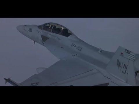 F-18 vs SAM