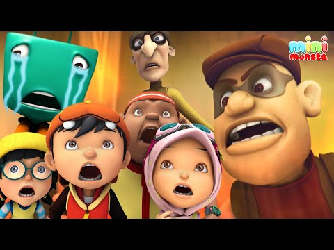 Rompakan Rob,Robert,Roberto! #BoBoiBoyS3 | Episod 07