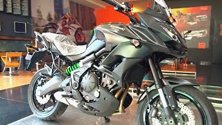 6. #Bikes@Dinos: Kawasaki Versys 650 ABS 2016 First Look, Walkaround Review, Exhaust note