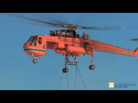 Erickson Air Crane setting up large towers (video credit: Manitoba Hydro)