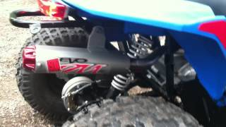 7. Polaris Outlaw 50cc, Outlaw 90cc w/Big Gun Evo Mini Exhaust, & Polaris Phoenix 200cc walk around!