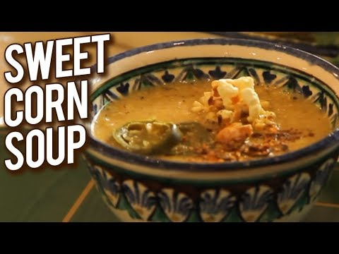 Roasted Corn Soup | Homemade Soup Recipe | Annuradha Toshniwal