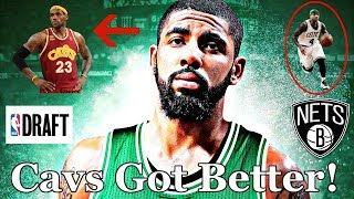 It's official. Kyrie Irving is no longer a member of the Cleveland Cavaliers, as he was traded to the Boston Celtics Tuesday night in...