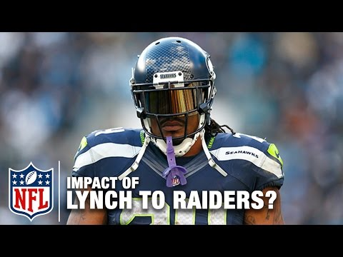 Video: Marshawn Lynch's Potential Impact on Raiders in 2017?   Around the NFL & Total Access   NFL Network