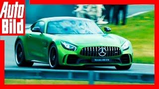 Mercedes-AMG GT R - Hamilton als AMG Taxifahrer! (2016) by Auto Bild