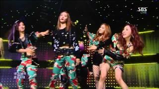 [HD] SNSD - I Got A Boy @ SBS Inkigayo