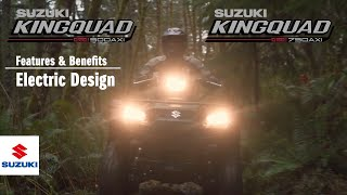 7. KINGQUAD 750 / 500 AXi 4x4 / POWER STEERING OFFICIAL TECHNICAL PRESENTATION VIDEO -Electric-
