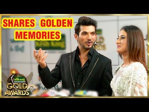 Arjun Bijlani And Alisha Panwar Share Their GOLDEN