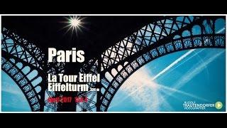 PARIS   Tour du Eiffel   Eiffelturm   Teil 4v.4