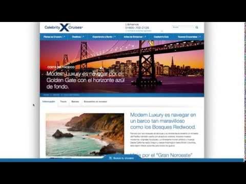 Página Web de una Empresa de Cruceros