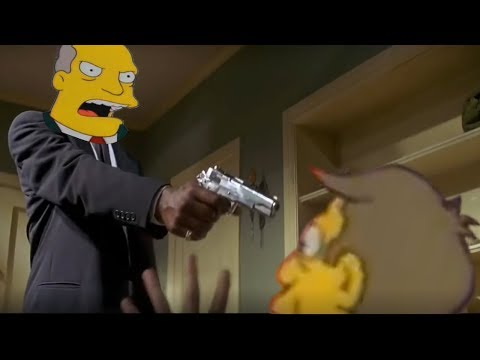 Steamed Hams but it's Pulp Fiction