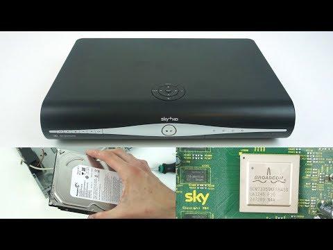 Teardown & Hard Drive Removal - Sky+ HD Set Top Box