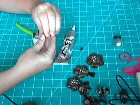 Making metal flower rings tutorial