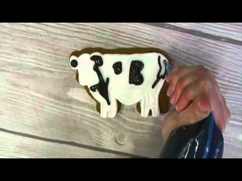 Meadow Maisy - Deluxe Gingerbread Cow